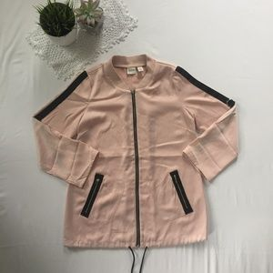 Chico's Zenergy Bomber-Inspired Convertible Jacket